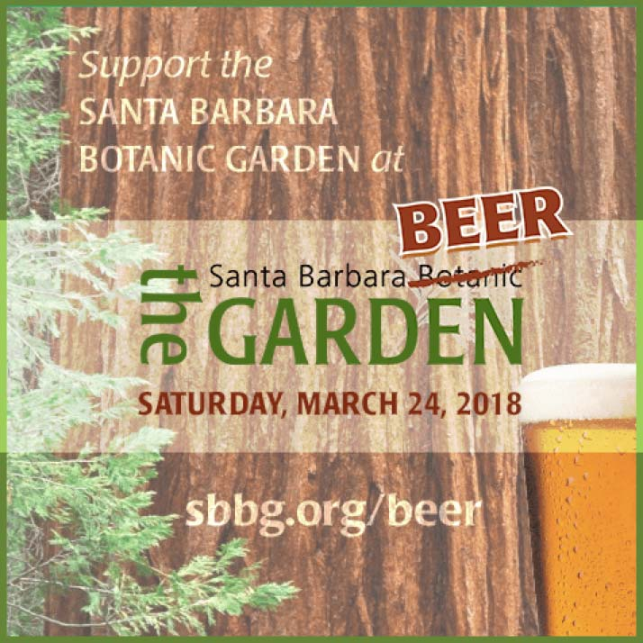 Santa Barbara Botanic Garden event announcement